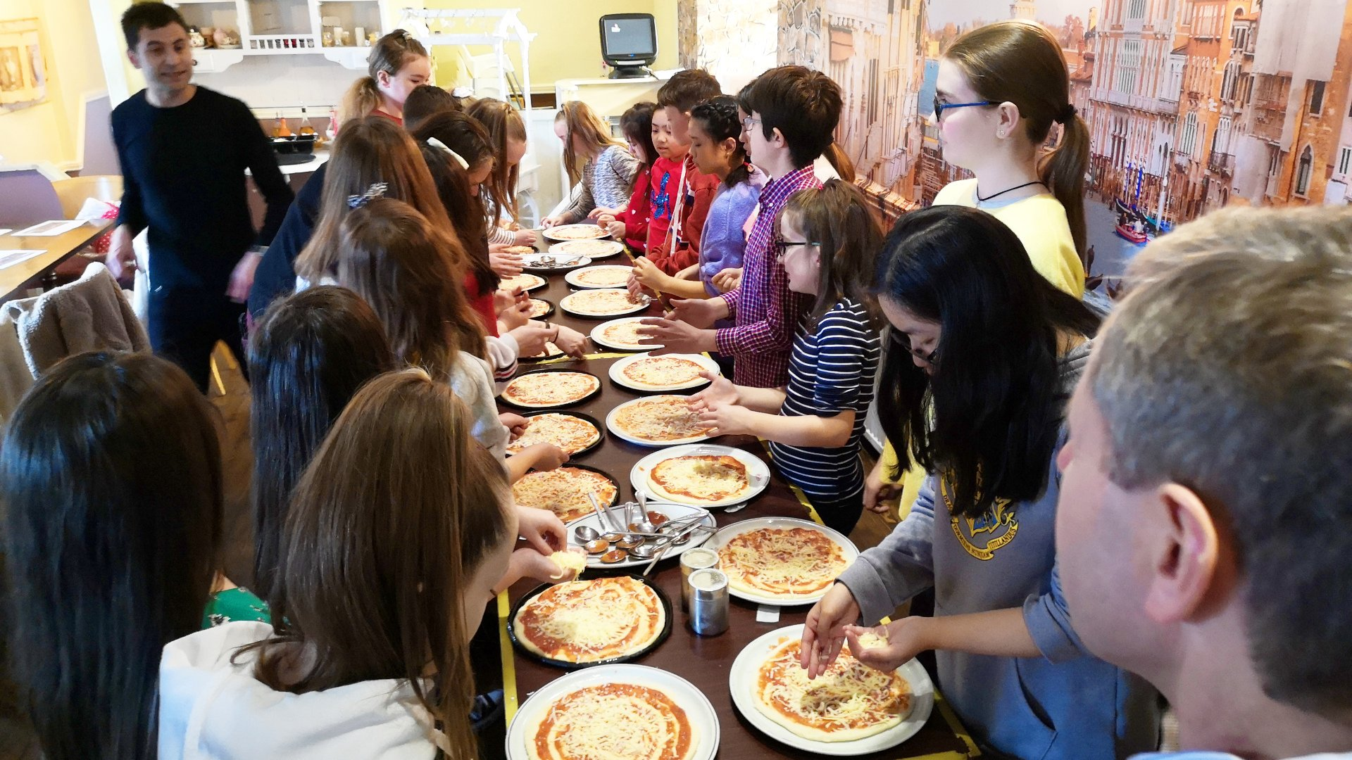 Picture of Our Lady of Victories Children's Choir Make Your Own Pizza Outing